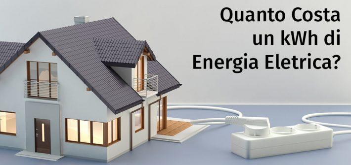 Costo kWh Energia Elettrica